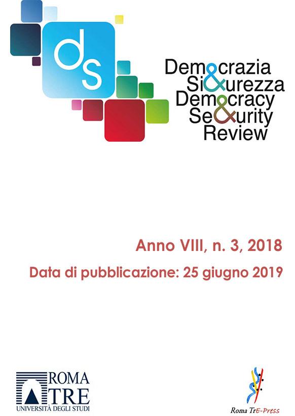 Democrazia e Sicurezza - 2018, n. 3
