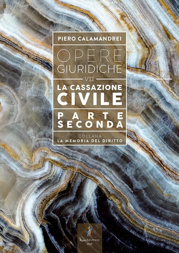Opere giuridiche – Volume VII – La Cassazione civile (parte seconda)