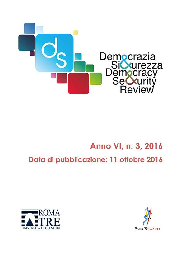 Democrazia e Sicurezza - 2016, n. 3