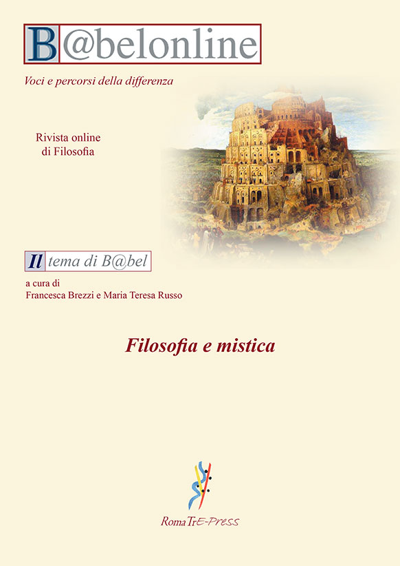 B@belonline vol. 1/2 Filosofia e mistica