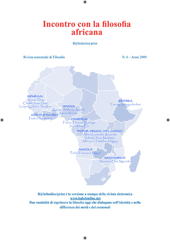 B@belonline vol. 6 Incontro con la filosofia africana