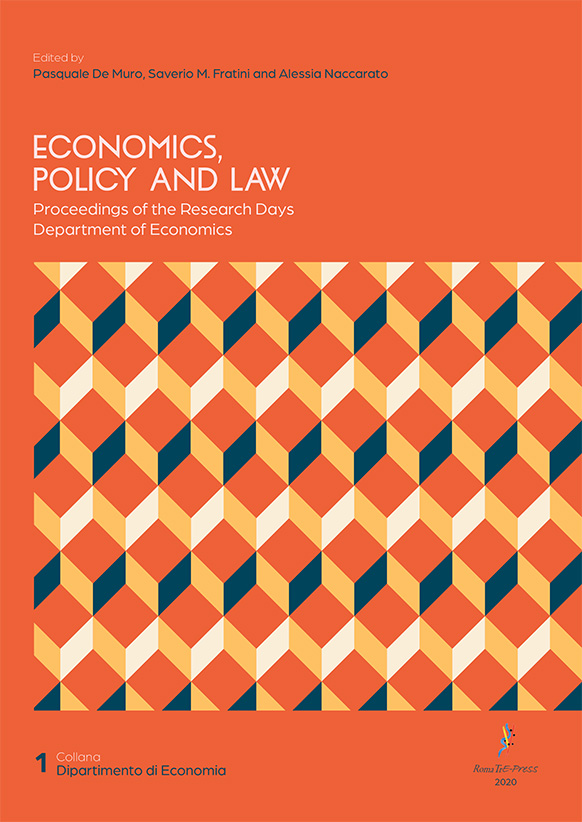Economics, Policy and Law. Proceedings of the Research Days Department of Economics