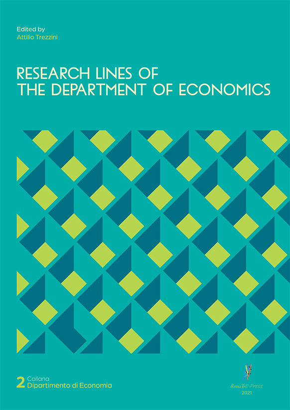 Research Lines of the Department of Economics
