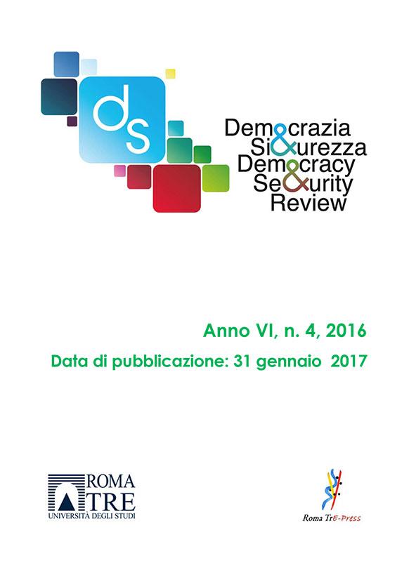 Democrazia e Sicurezza - 2016, n. 4