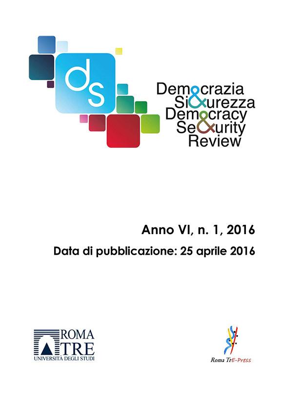 Democrazia e Sicurezza - 2016, n. 1