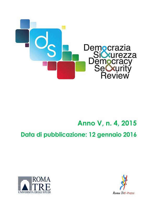 Democrazia e Sicurezza - 2015, n. 4