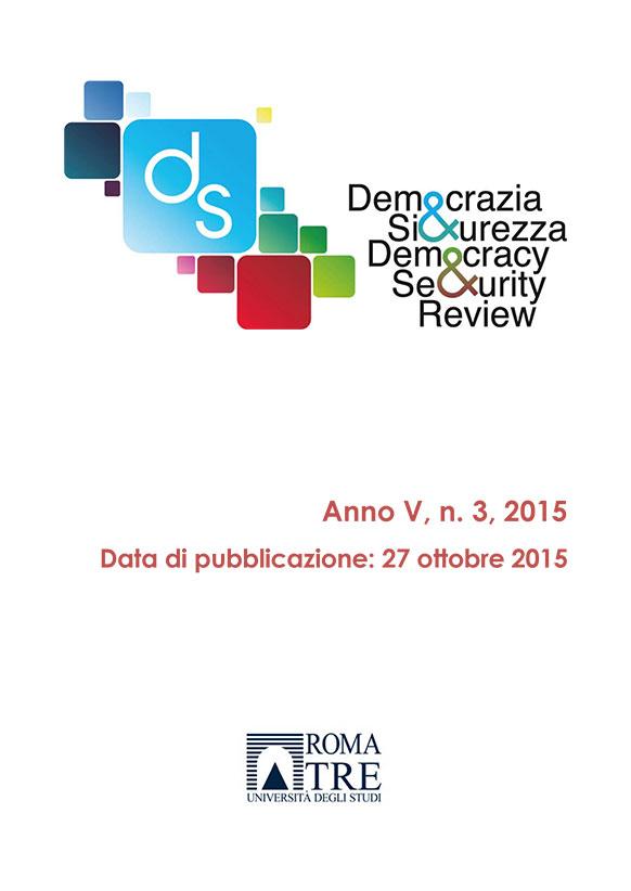 Democrazia e Sicurezza - 2015, n. 3